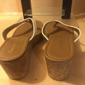 American Eagle Shoes - American Eagle Wedge Sandals